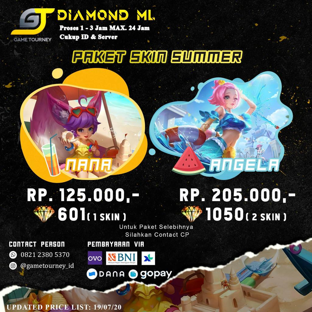Paket Diamond ML is Back • Mau Order? Langsung Contact CP via Whatsapp, Pastinya aman dan Legal . Yok para Gamers ML kuy lah gaskeun!!#mlbb #mlbbindonesia #ml #mobilelegendstoday #mobilelegends #mobilelegendswtf #mobilelegendsindo #mobilelegendsgame #mobilelegendsindonesiapic.twitter.com/7Nr77NJKP2