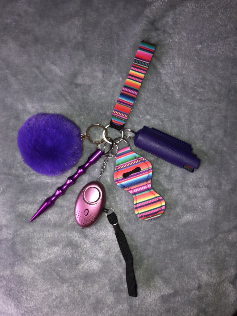 La Toxica On Twitter Hey Girls I Make Self Defense Keychains