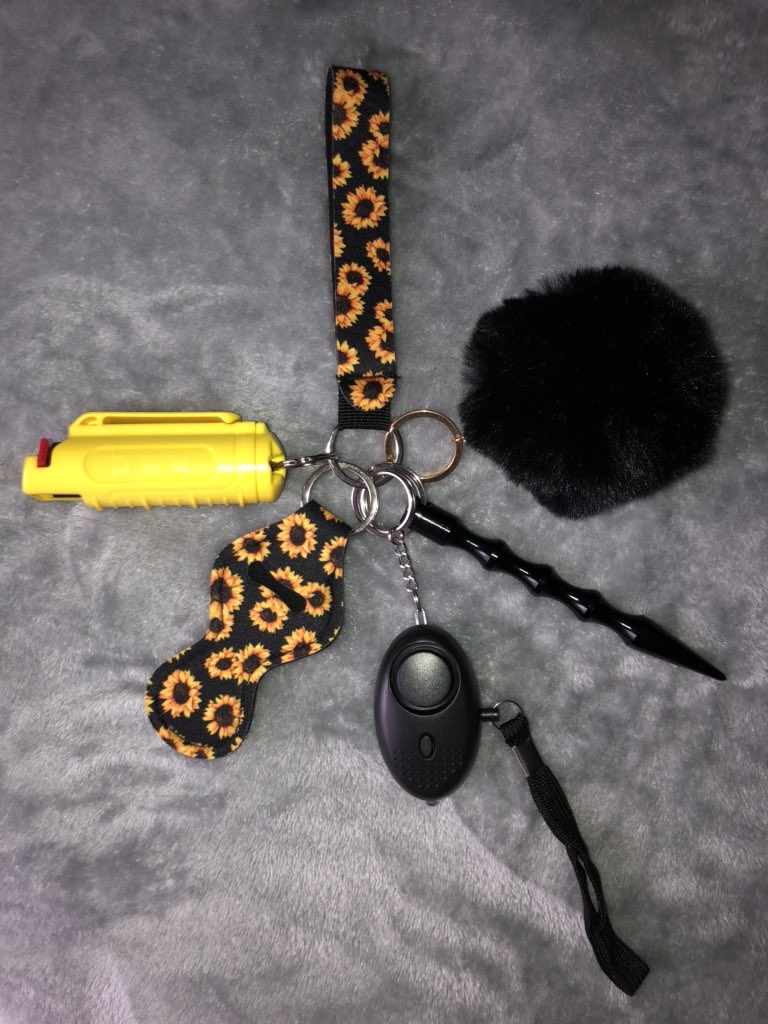 La Toxica On Twitter Hey Girls I Make Self Defense Keychains