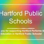 Image for the Tweet beginning: Thank you Hartford Public Schools