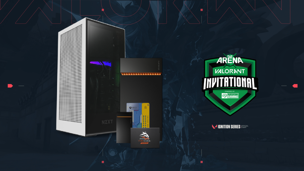 ONLY 15 HOURS LEFT to enter: seagate.media/6014TWtMG Were going to level up one lucky gamer by giving away a @NZXT gaming PC! Plus, we are giving away some additional drives to runner-ups! 🏆 #PAXArena #giveaway