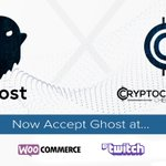 Image for the Tweet beginning: Ghost can now be accepted