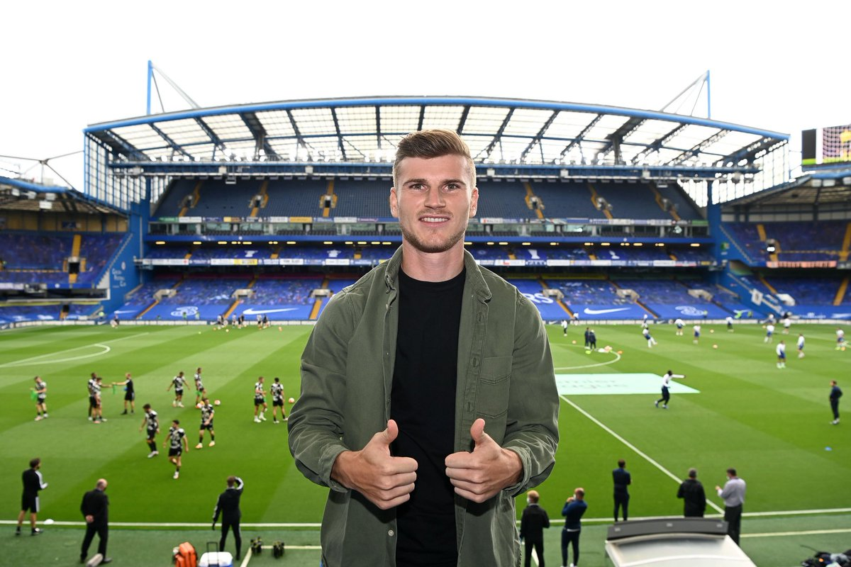 My new home! Come on, @ChelseaFC 🤩🔵💪
