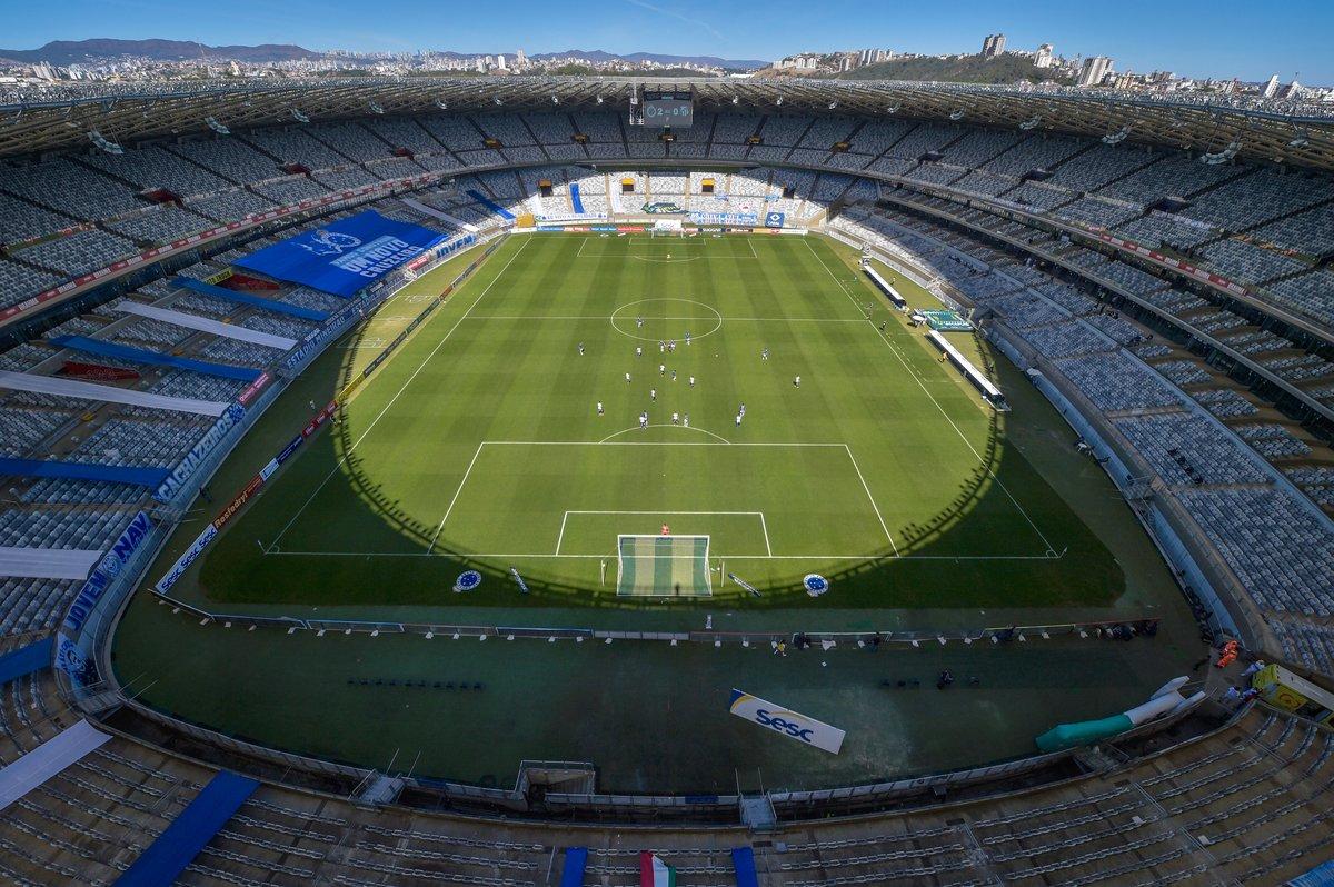 Estadio Mineirao On Twitter Fim De Jogo Cruzeiro Vence O Urt Por 3x0 O Retorno Do Futebol Nao Poderia Ter Sido Melhor Cruxurt