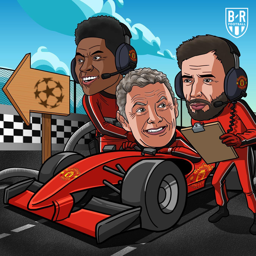 United are back in the Champions League! 🔥 https://t.co/Cf0UFTNW3O