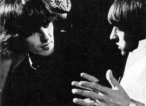 George and Ringo The #Beatles