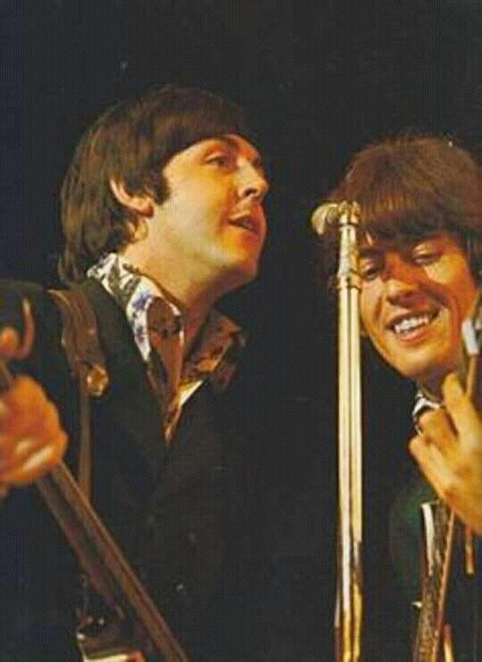 Paul and George The #Beatles