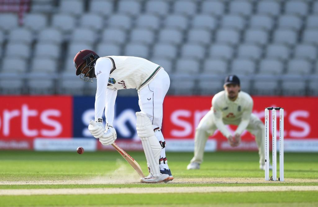 West Indies vs England- Roston Chase