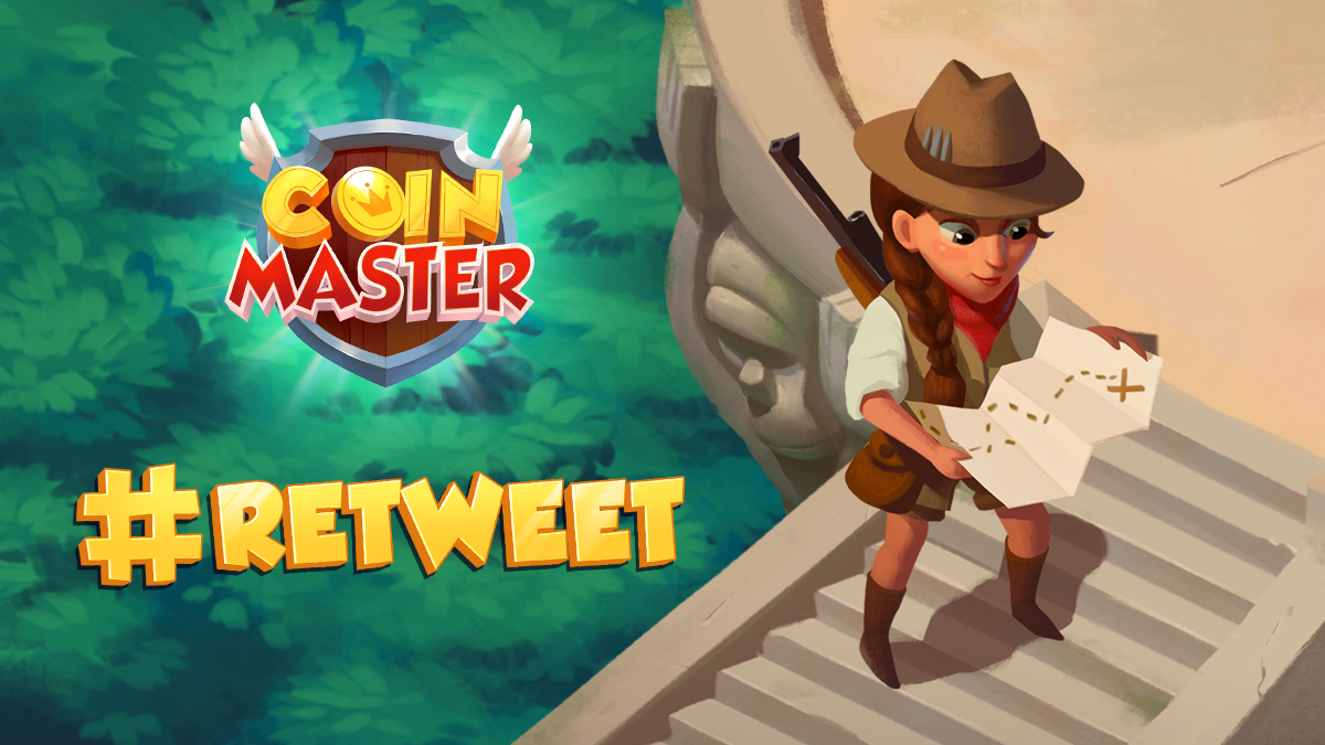 RT @CoinMasterGame: #retweet if you're mapping out the perfect raid right now!  #CoinMaster https://t.co/TTohhdKVz8