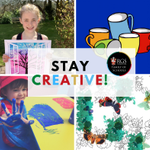 Image for the Tweet beginning: Being creative is a great