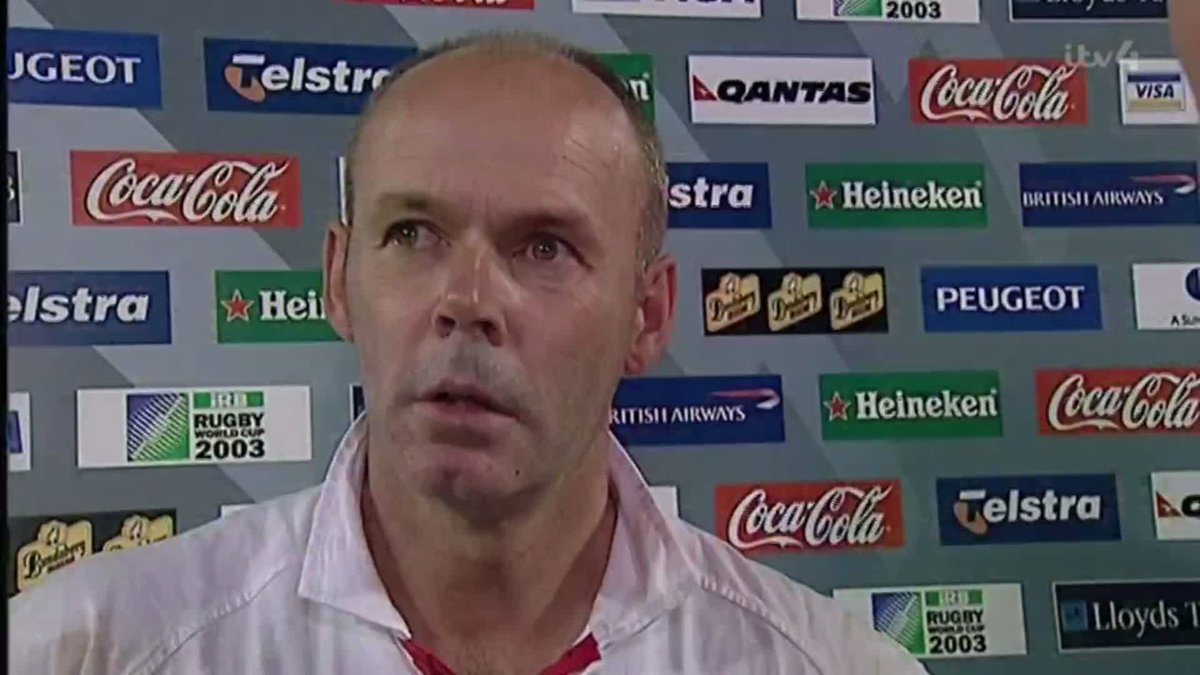 Im speechless. Its just fantastic and unbelievable. Who cares what I thought, we won! @EnglandRugby coach @CliveWoodward on a night to remember for his team and the whole country! Watch NOW 👇 📱 bit.ly/32Hjphk 📺 ITV4 #RWC03Revisited #ITVRugby