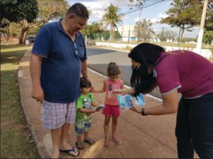"""test Twitter Media - """"The most important thing is to raise public awareness through actions to protect everyone. It is a serious disease that is among us and we have to protect ourselves and others.""""Lions in Brazil helped distribute masks in their community. #WeServe https://t.co/KNP0amN3hb https://t.co/RJXwDaanvZ"""