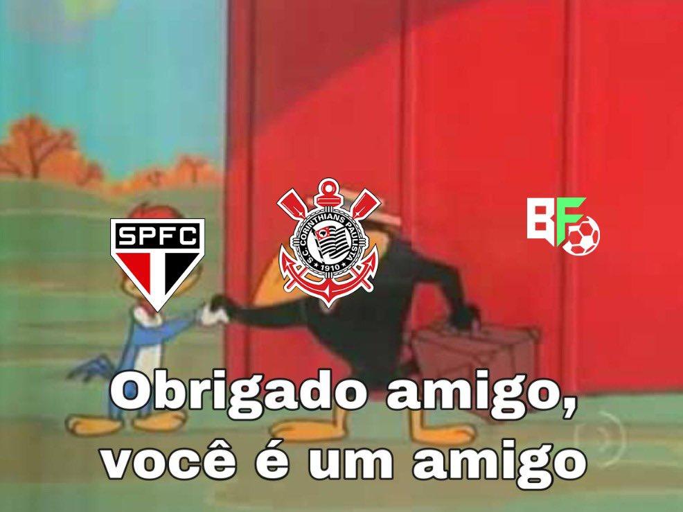Valeu, São Paulo! Confira os memes nas redes após o rival deixar o Timão chegar na final do Paulistão 2020