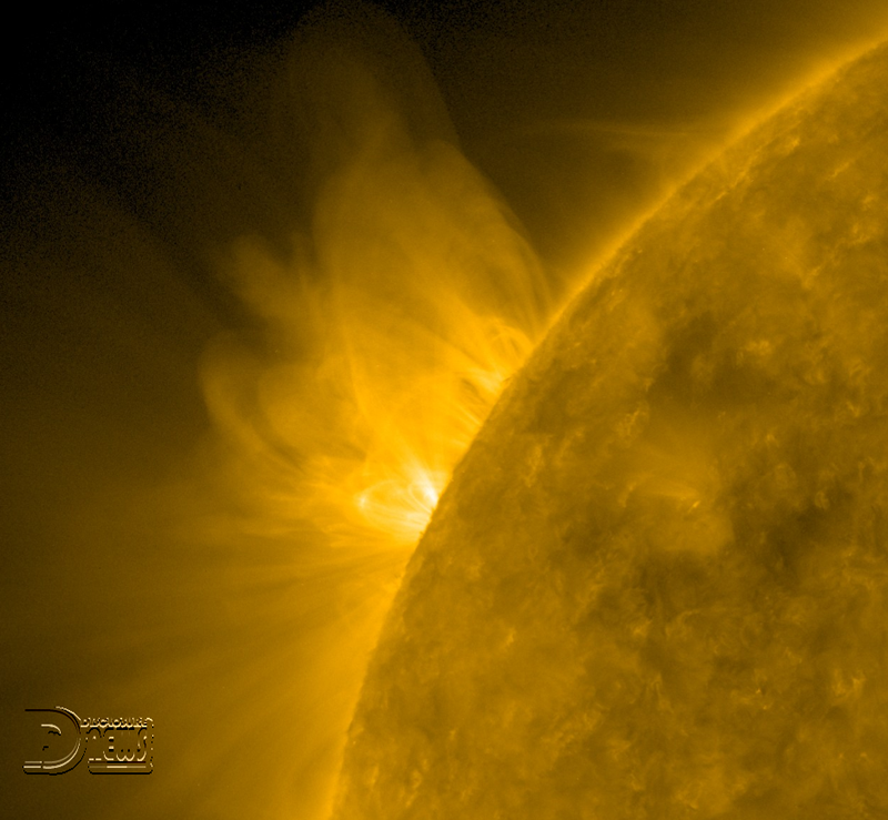 News Burst 27 Luglio 2020 - Sunspot In The Offing