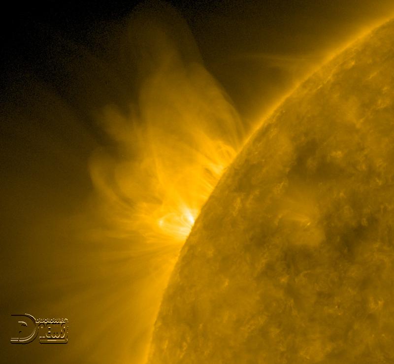 News Burst 4 July 2020 - Sunspot In The Offing
