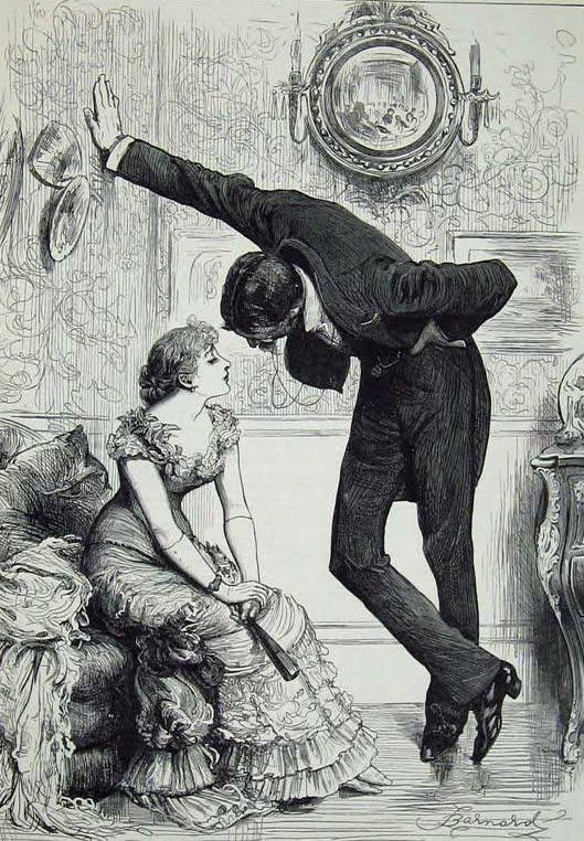 ヴィクトリア時代の「壁ドン」いつの時代もイケメンがやると効果あり?!