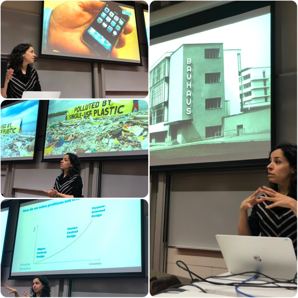 """Gabi's opening lecture always inspires #DesignEvolution #Design4Good thx @gabinuri  """"To design is to devise a course of action aimed at changing existing situations into preferred ones' Herbert Simon @UoACreatives"""