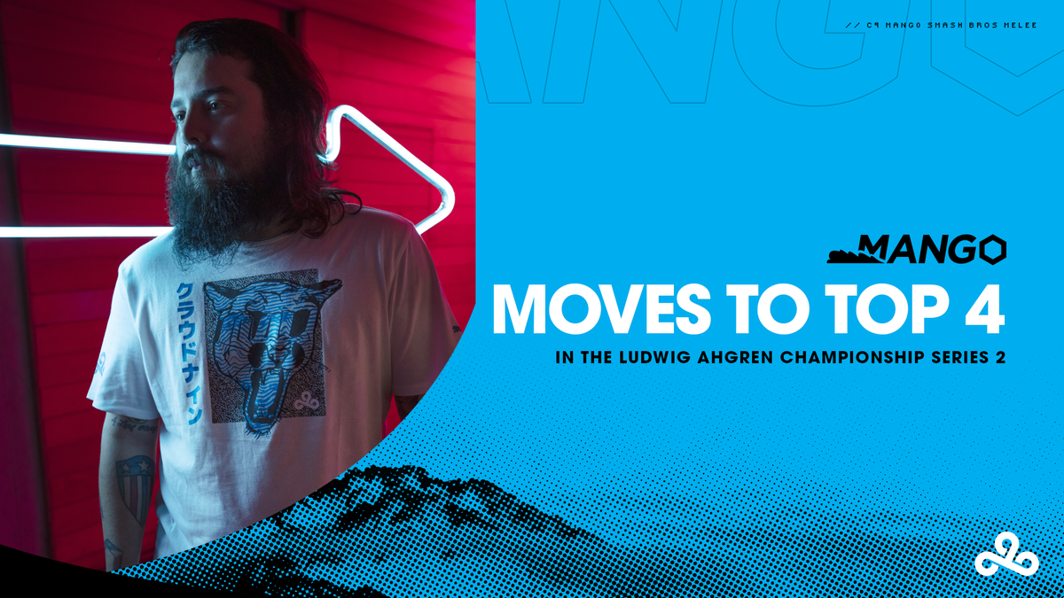 .@C9Mang0 takes down @iBDWSSBM 3-1 as he moves to the Ludwig Ahgren Championship Series 2 Top 4! #LETSGOC9 Mang0 POV: twitch.tv/mang0 Casters POV: twitch.tv/ludwig