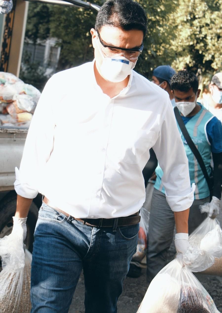 Miguel Pereira electo por las bases del FMLN para buscar reelección