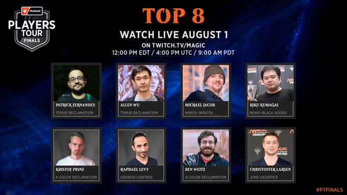 Top 8 PT Finals