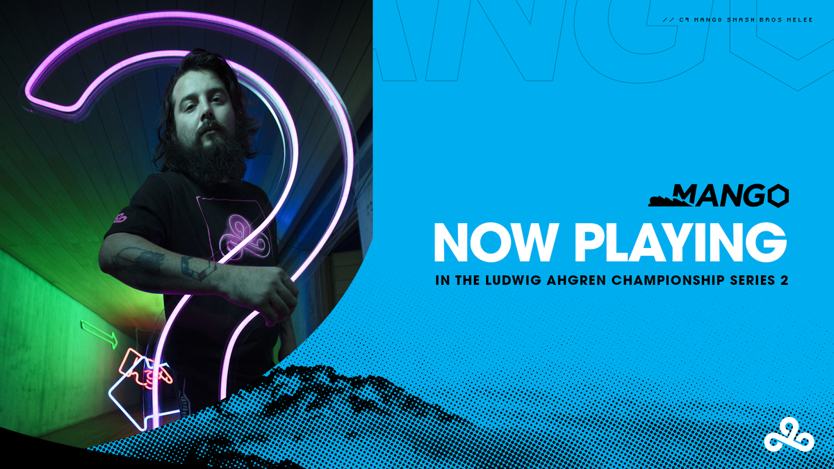 .@C9Mang0 takes on @iBDWSSBM in the Ludwig Ahgren Championship Series 2 Top 3! #LETSGOC9 Mang0 POV: twitch.tv/mang0 Casters POV: twitch.tv/ludwig