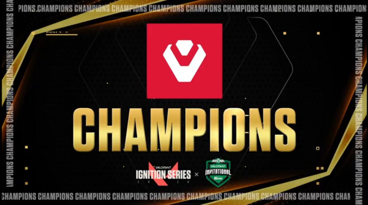Congratulations to your new North American Champions are @Sentinels! #PAXArena #SeagateGaming #VALORANT