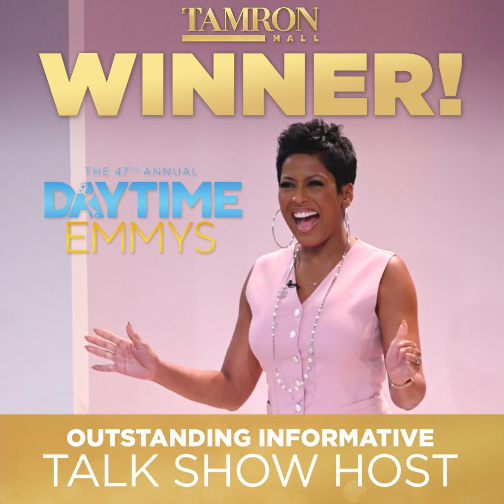 CONGRATS GOES OUT TO OUR HOST! <3 Thank you @DaytimeEmmys!!!!