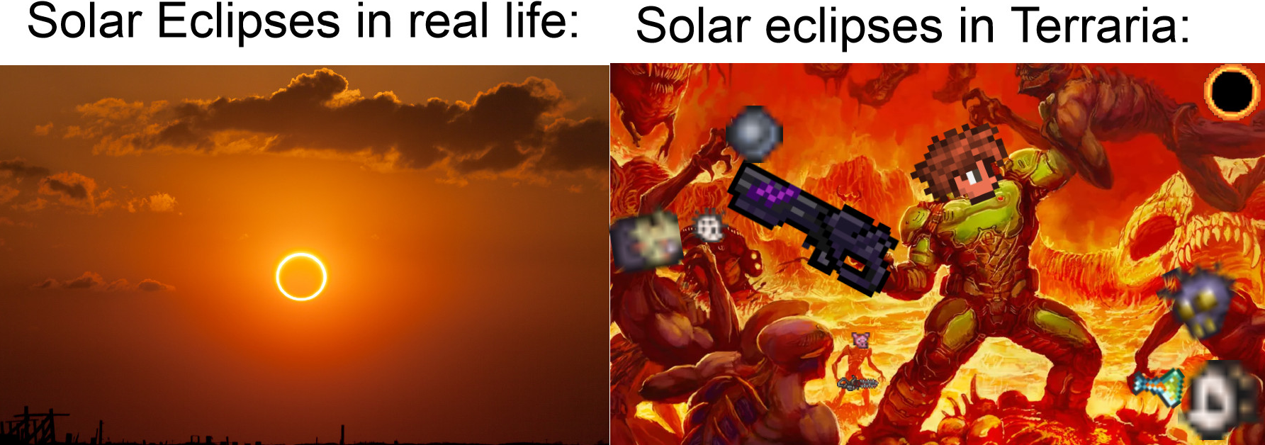 Solar Eclipse Terraria Time / Some of these are end game items that.