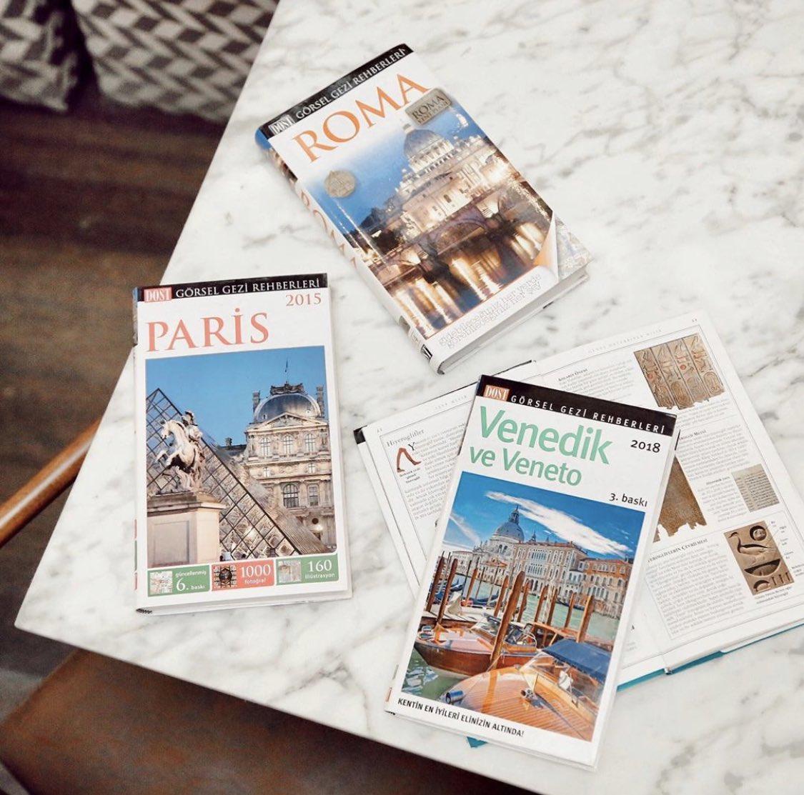 Paris, Venedik, Roma…İstediğiniz seyahat rotaları için rehber kitaplar Gordion Ada Kitabevi'nde!☺️📚 #gordionlife #gordiongibisiyok https://t.co/0Z0OkKxXIT