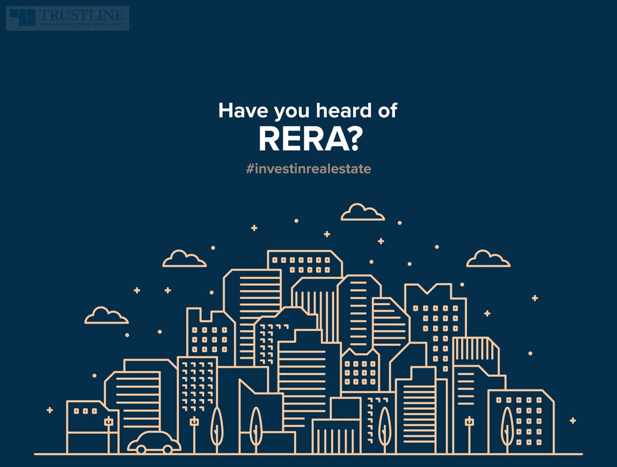 RERA - Real Estate Regulatory Authority is the one entity you should remember to check while looking for a property. If the housing project is not a RERA-registered, better skip it. You may verify the RERA number and approvals online. #investinrealestate https://t.co/AnLWHL8HE6