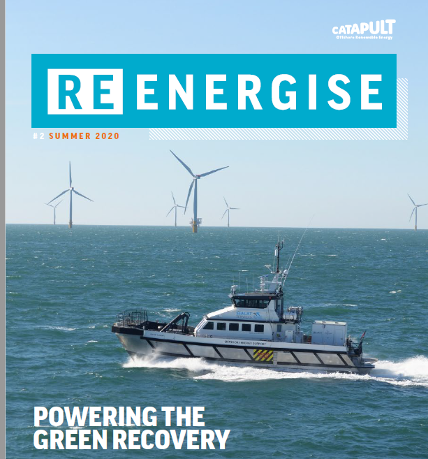 👀 Read the Summer 2020 edition of our #ReEnergise magazine: Powering the Green Recovery  🇬🇧 Foreword from The Rt Hon Kwasi Kwarteng 🚦Green light for green hydrogen  💡Cross sector innovation driving the #greenrecovery  @beisgovuk  https://t.co/DLlLhBapcC https://t.co/cS2y6AEun6
