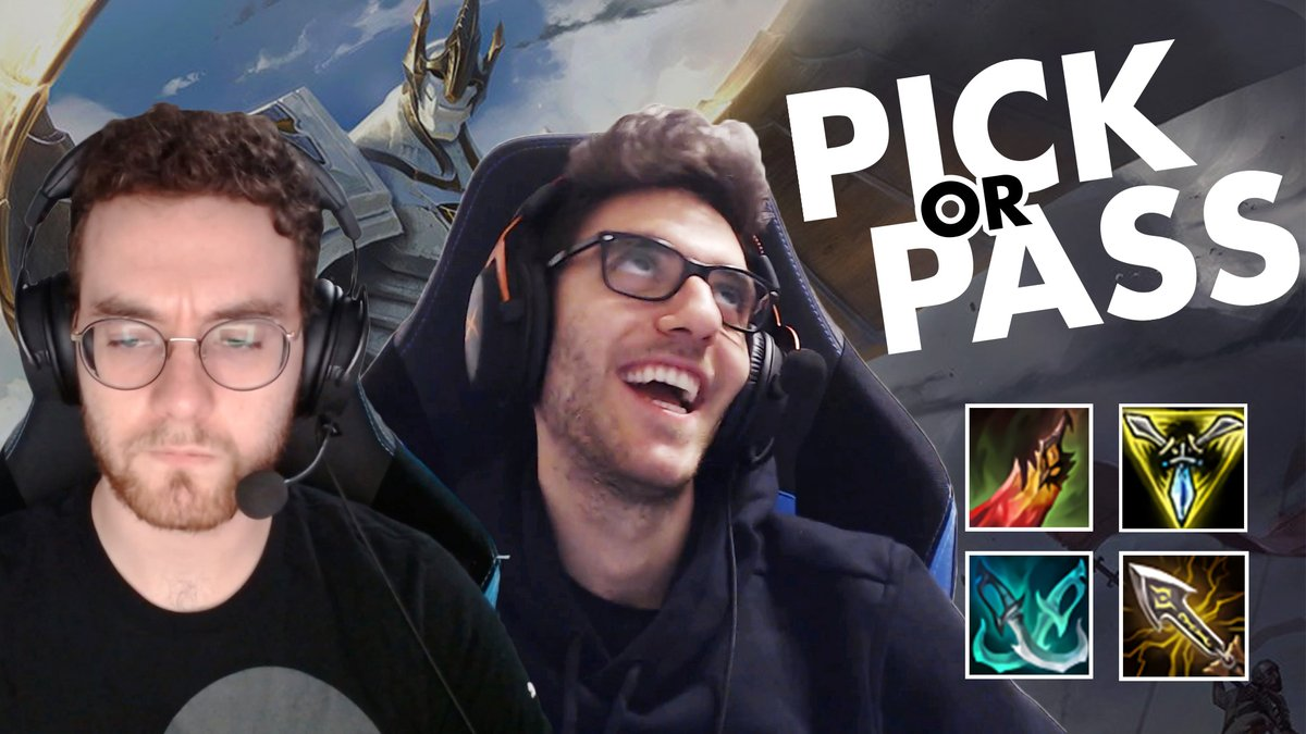 Were back with another episode of Pick or Pass with #C9LoL! Is AD Bruiser Galio viable? How about some of these other unique builds submitted by viewers? Find out in the video! 🔺 youtu.be/v8-iGhtrcB0