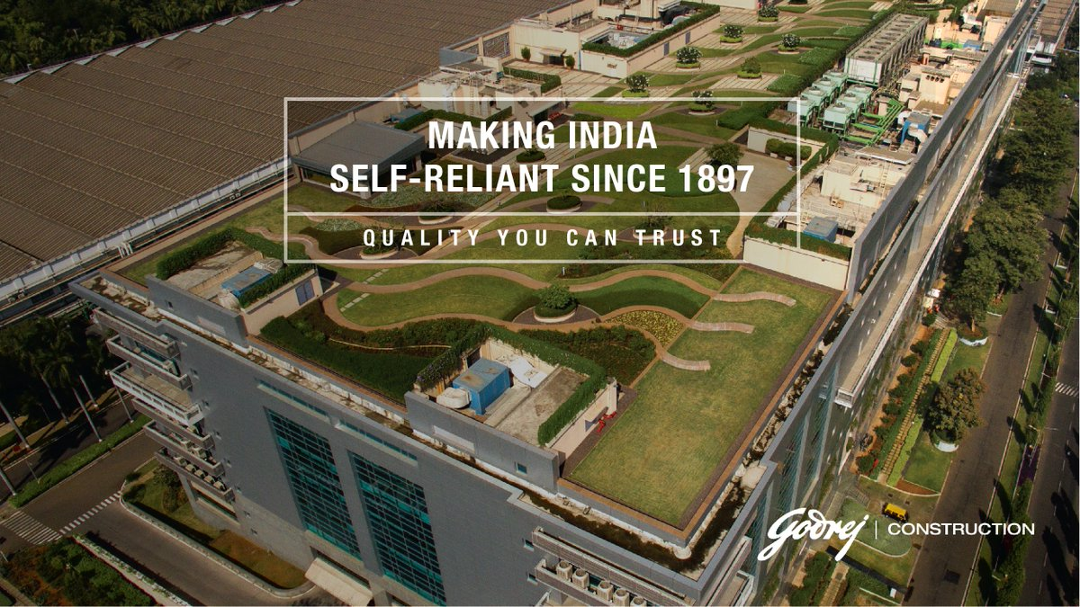 At Godrej Construction, we treat & recycle concrete waste to make recycled concrete blocks that are 3X stronger than clay bricks. We are changing the world one concrete block at a time. You'd agree that's a big step for a greener world.   #MakingIndiaSelfReliant #GodrejAndBoyce https://t.co/KVYCmlHyJa