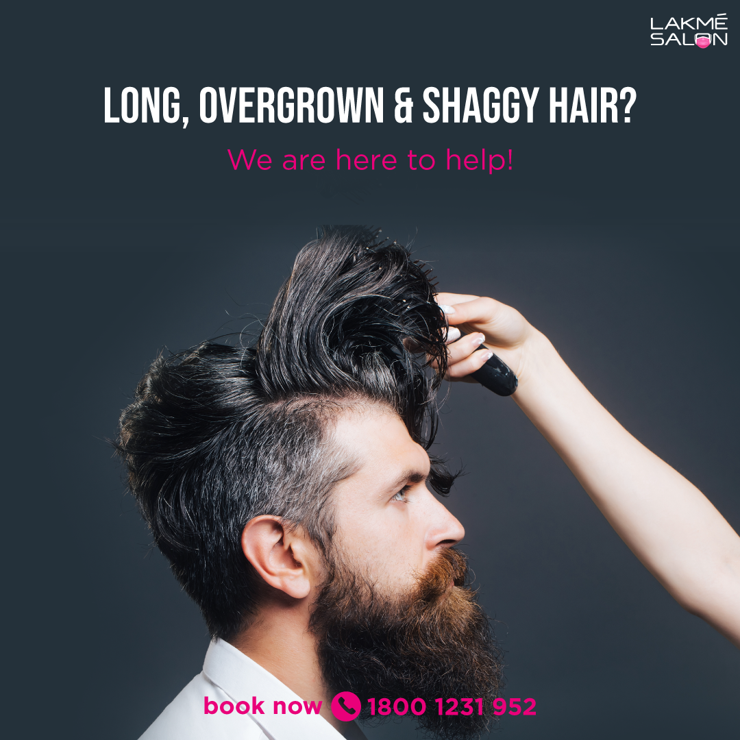 Gentlemen, has your hair grown wild in this past couple of months?  📞 us on 1800-123-1952 or download the Lakmé Salon App to pre-book your appointment for a safe & hygienic makeover #mengrooming #menhairstyle #menhaircut #hairstlye #lakmesalon #grooming #hairs #haircut #booknow https://t.co/jH3hdqGFfv