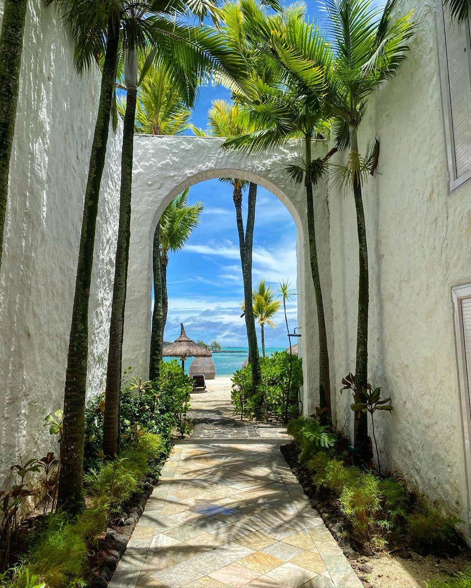 A paradise amidst pristine beaches await beyond the palm tree-lined path…  #MyShangriLa   Photo Credit: @onlymyfotos https://t.co/5EuGl2N3vA
