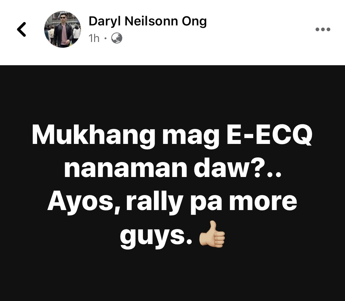 Uy, @imdarylong. Tinatanong lang kita kung tanga ka. Ba't nagagalit ka 'agad? AHAHAHAHA.