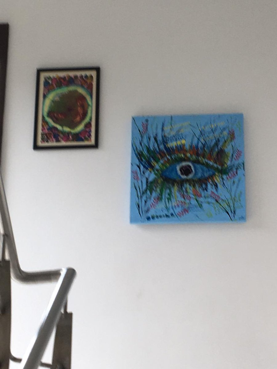 Feeling Proud that my painting named *eye flora* displayed to Dr Koushal Shah or EyeHeal Hospital. Mulund West. ##painting #abstract #artgallery #artexhibitions  #museum #contemporaryart #workonpaper  #Entrepreneur #painting #sketch #colors #newlove #iamdineshgadapic.twitter.com/Qtp7PzCxUg