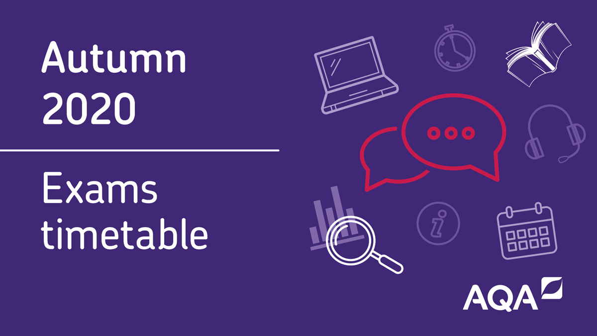 We've just published our timetable for the autumn exams > bit.ly/2Cxn4Ul