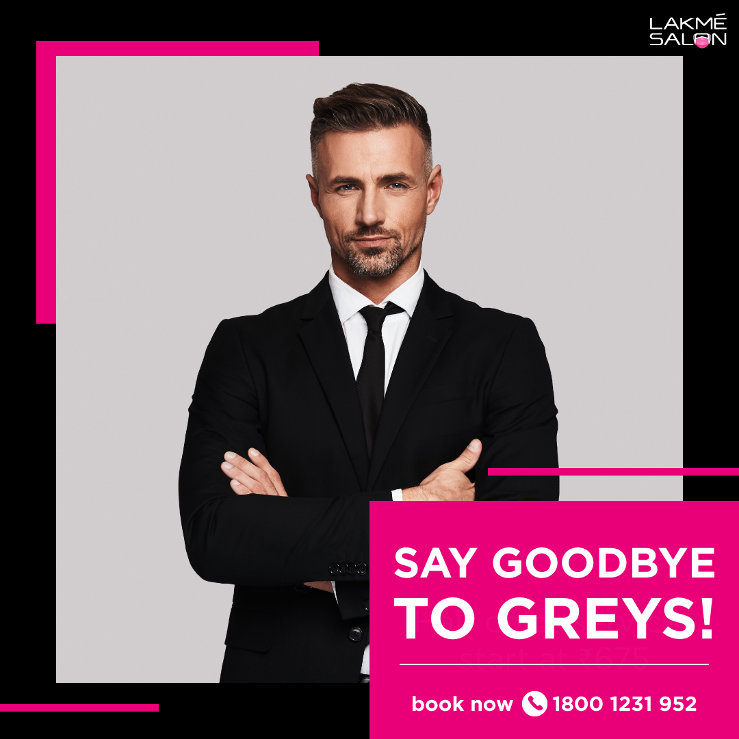 Need to cover those greys? Head to our salon and get this season's hottest shades. 📞 us on 1800-123-1952 or download the Lakmé Salon app #lakmesalon #haircolor #haircut #menhaircolor #hairgrooming #mengrooming #opennow #booknow #bookyourappointment #yoursafetyisourpriority https://t.co/7CgApuk76p