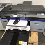 Image for the Tweet beginning: Printing our new uniforms 😀