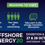 Image for the Tweet beginning: 📣 Offshore Energy Exhibition &