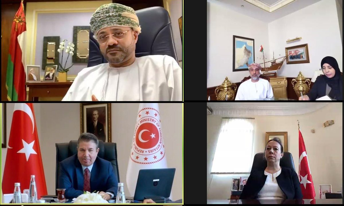 In today's virtual meeting with HE Sedat Onal, Deputy Minister of Foreign Affairs #Turkey, we discussed bilateral economic cooperation in areas such as health, culture, education and tourism, along with a number of regional and international issues. https://t.co/pgtjMnrhX4