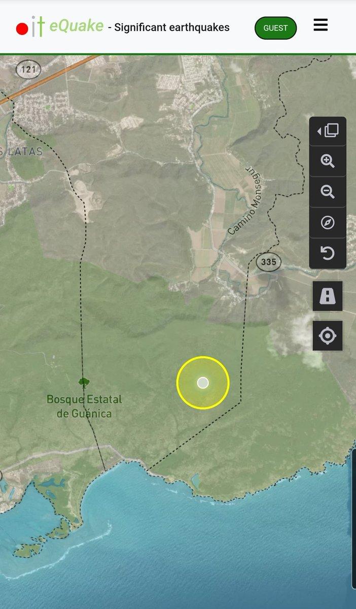 Informe de actividad sísmica significativa para hoy 200727 800am. Hasta el momento registramos 1 evento sobre tierra en el barrio Barinas de #Yauco. En tiempos de pandemia estamos #ContigoTodoElCamino @adamonzon @TemblorPR @NMEADprpic.twitter.com/kLJUyoGGY5