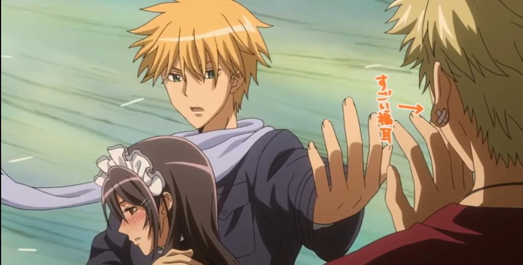 let's be honest, kaichou wa maid sama is our top romance anime