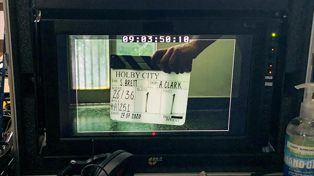 🏥 #HolbyCity is back up and running. Filming has begun on a new special episode that sees the hospital gripped by the coronavirus pandemic. The new episode will be on @BBCOne later this year: bbc.in/30KVjj2