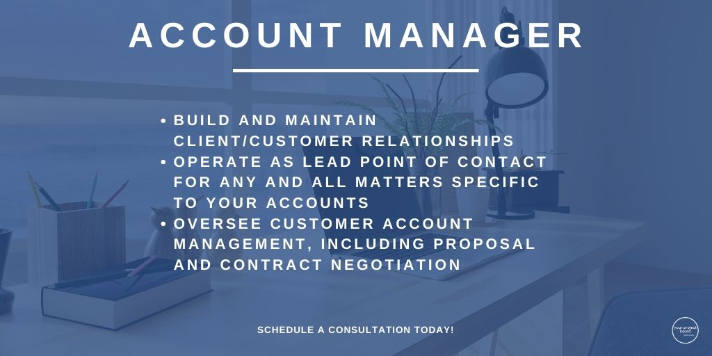 Account Manager is one of the positions we have at YPB. Click the link in our bio to schedule your consultation or book an account mana... #yourprojectbrd #yourprojectboard #virtualassistant #administrativeassistance #businesshabits #smallbiztips #entrepreneurship #accountmanagerpic.twitter.com/eTtErpydVg