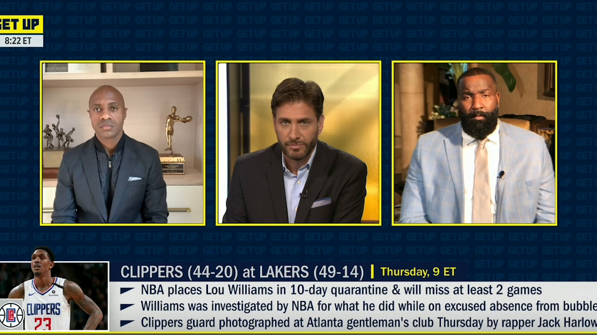 @GetUpESPN's photo on Lou Williams
