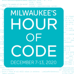 Image for the Tweet beginning: Save the date! #MKEHourofCode, an
