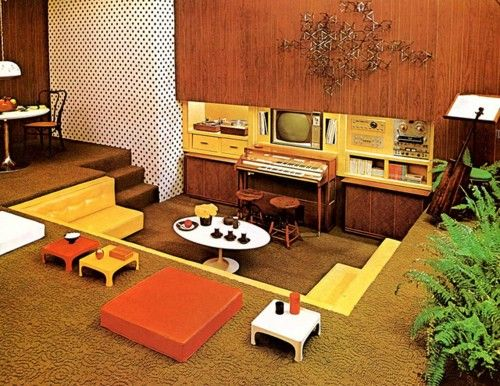 Doyouremember Co Uk On Twitter Do You Remember Sunken Living Rooms Being In Style In The 70s Did Your Home Ever Have A Sunken Living Room Livingroom Styles Trends 70s Homedecor Home Decor Design