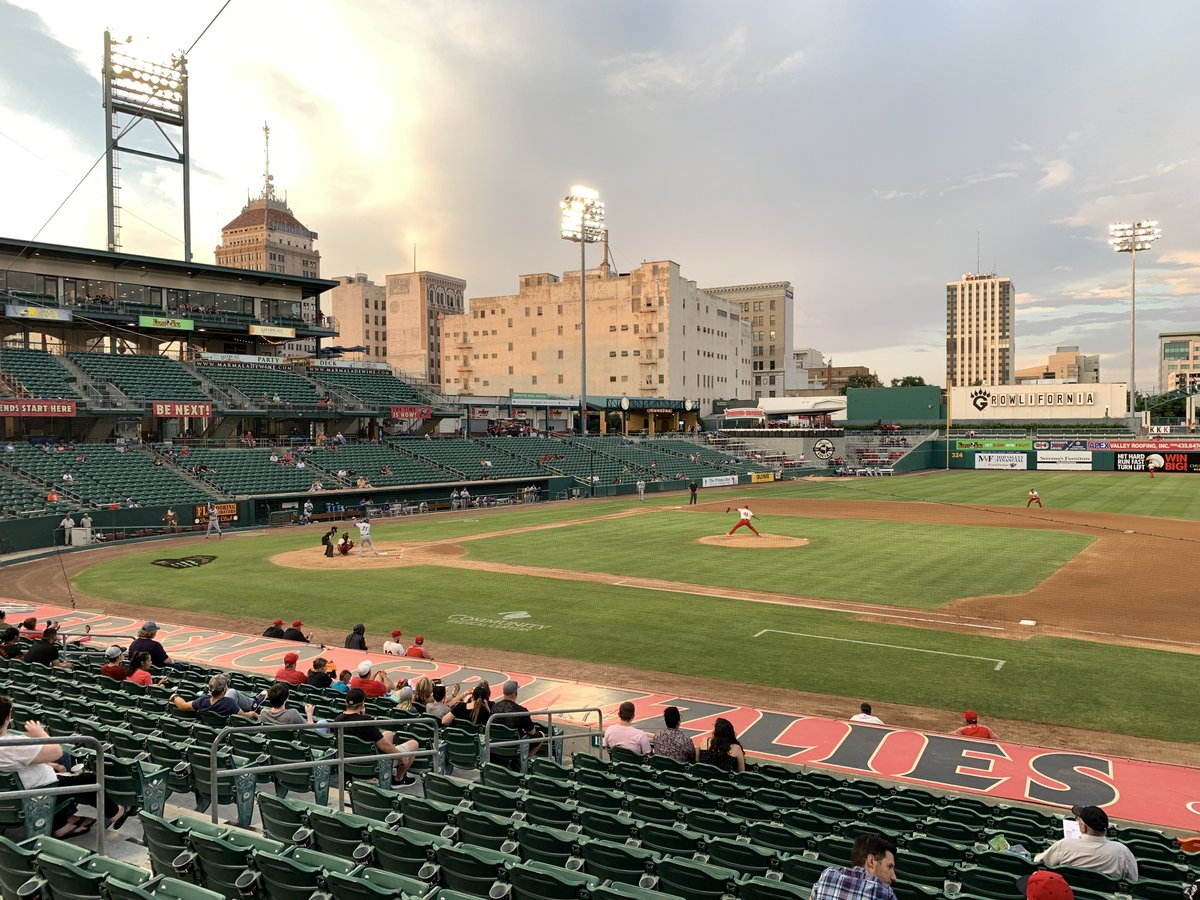 NEW THIS WEEK: We were lucky enough to see Joe Ross start for the Fresno Grizzlies on Day 7 of our 2019 California Baseball Road Trip. No one in attendance could have guessed Ross would be starting Game 5 of the World Series. mappingthepath.com/day-7-fresno-g…